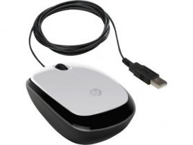 HP X1200 Wired mouse Pike Silver