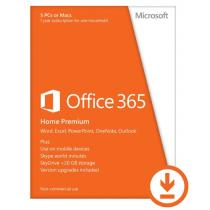 Microsoft Office 365 Home Premium 32/64bit 1év Subscription Online